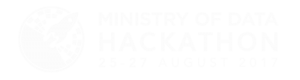 Ministry of Data Hackathon 25-27 August 2017